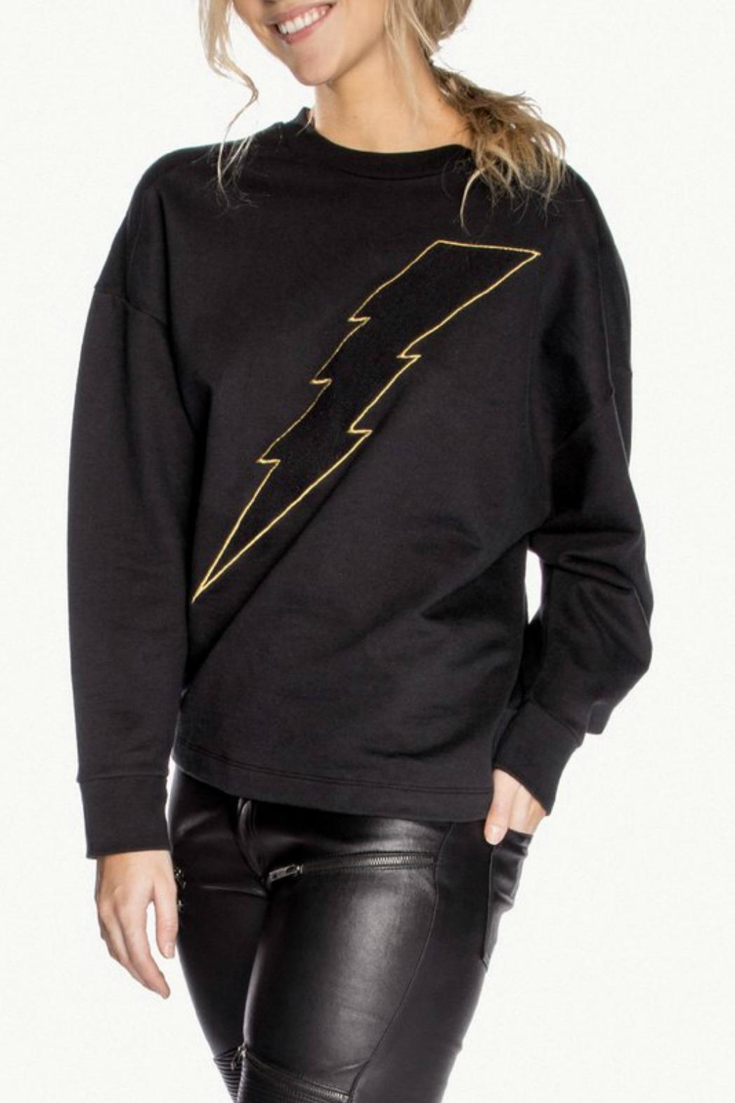 CHRLDR Bolt Twist Back Sweatshirt - Front Full Image