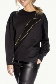 CHRLDR Bolt Twist Back Sweatshirt - Front full body