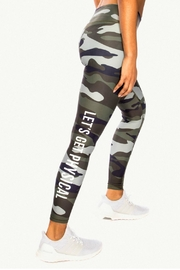 CHRLDR Physical Camo Leggings - Product Mini Image