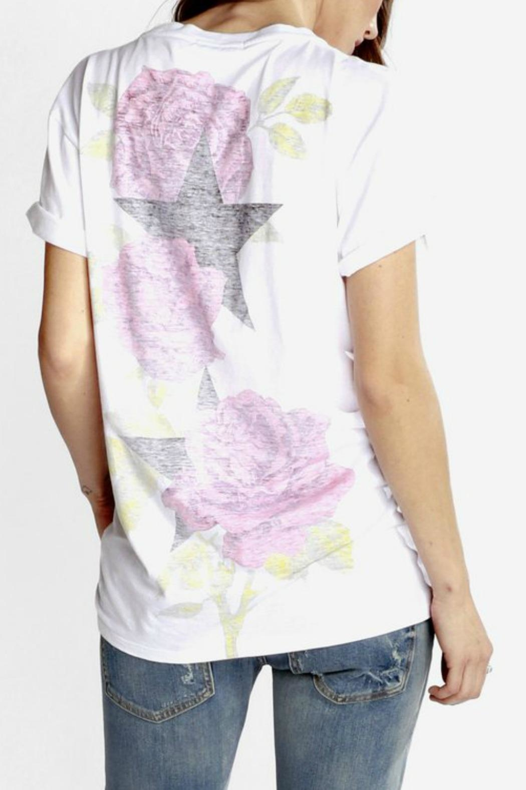 CHRLDR Rose Boyfriend T-Shirt - Side Cropped Image