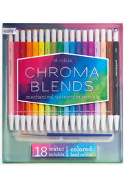 Ooly Chroma Blends Mechanical Watercolor Pencils - set of 18 - Product Mini Image