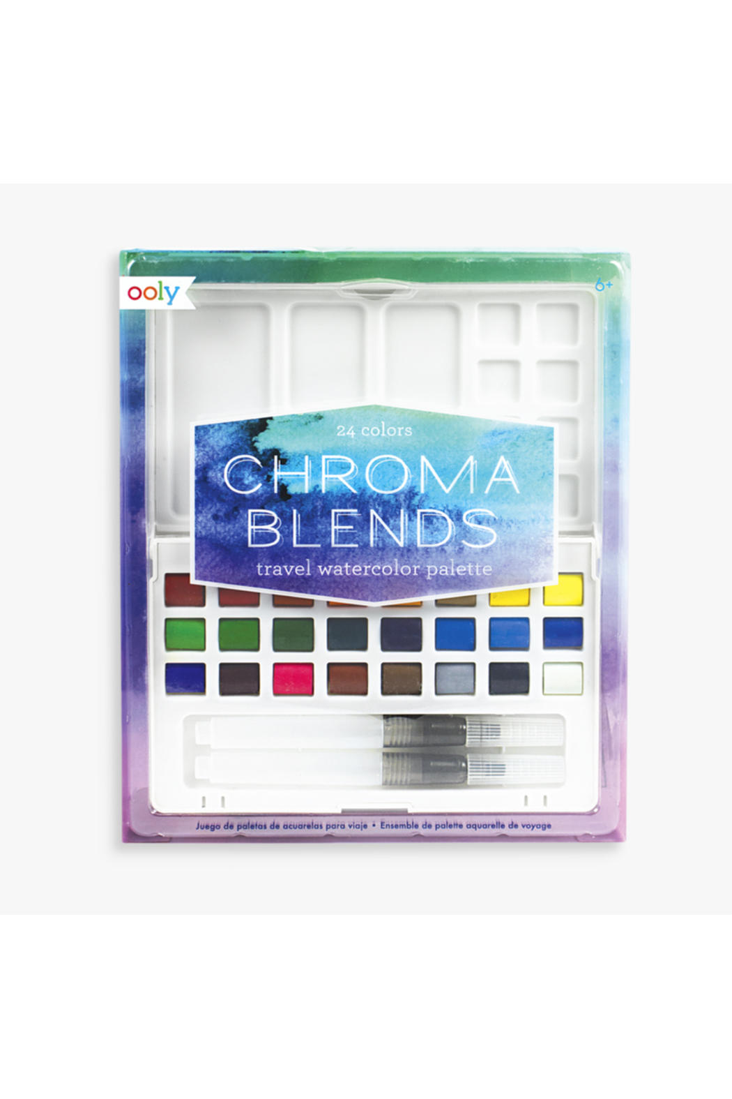 Ooly Chroma Blends Travel Watercolor Palette - Main Image