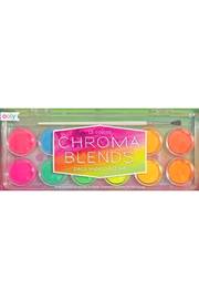 Ooly Chroma Blends Watercolor Paint Set - Neon - Product Mini Image