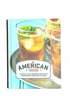 Chronicle Books American Cocktail Book - Alternate List Image