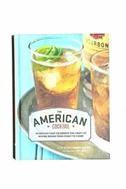 Chronicle Books American Cocktail Book - Product Mini Image