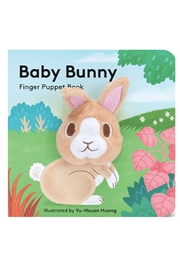 Chronicle Books Baby Bunny Finger Book - Product Mini Image