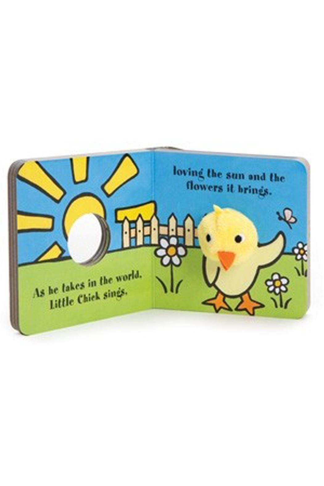 Chronicle Books Chick Finger-Puppet Book - Front Full Image