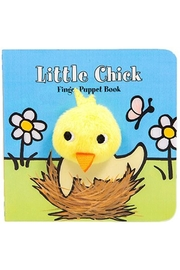 Chronicle Books Chick Finger-Puppet Book - Front cropped