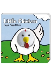 Chronicle Books Chicken Finger-Puppet Book - Front cropped