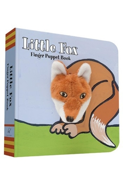 Chronicle Books Fox Finger-Puppet Book - Alternate List Image