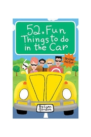 Chronicle Books Fun Car Games - Product Mini Image