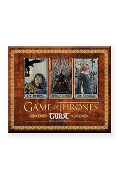 Chronicle Books Game Of Thrones Tarot Card Deck - Product List Image