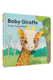 Chronicle Books Giraffe Finger-Puppet Book - Product Mini Image