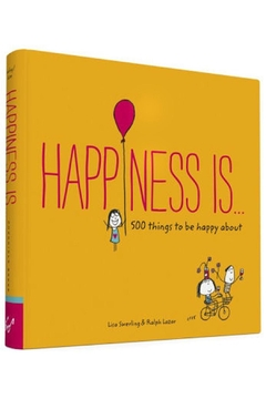 Chronicle Books Happiness Is... Book - Alternate List Image