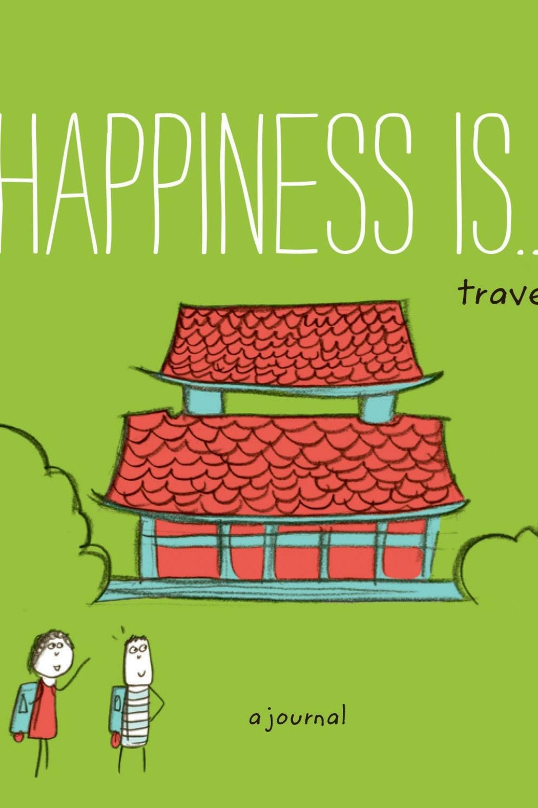 Chronicle Books Happiness Travel Journal - Main Image
