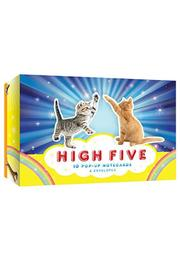 Chronicle Books High Five Notecards - Front cropped
