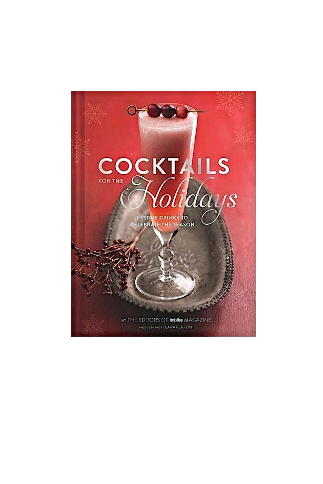 Chronicle Books Holiday Cocktails Book - Main Image