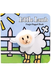 Chronicle Books Lamb Finger-Puppet Book - Front cropped