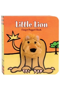 Shoptiques Product: Lion Finger-Puppet Book