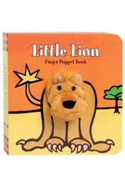 Chronicle Books Lion Finger-Puppet Book - Front cropped