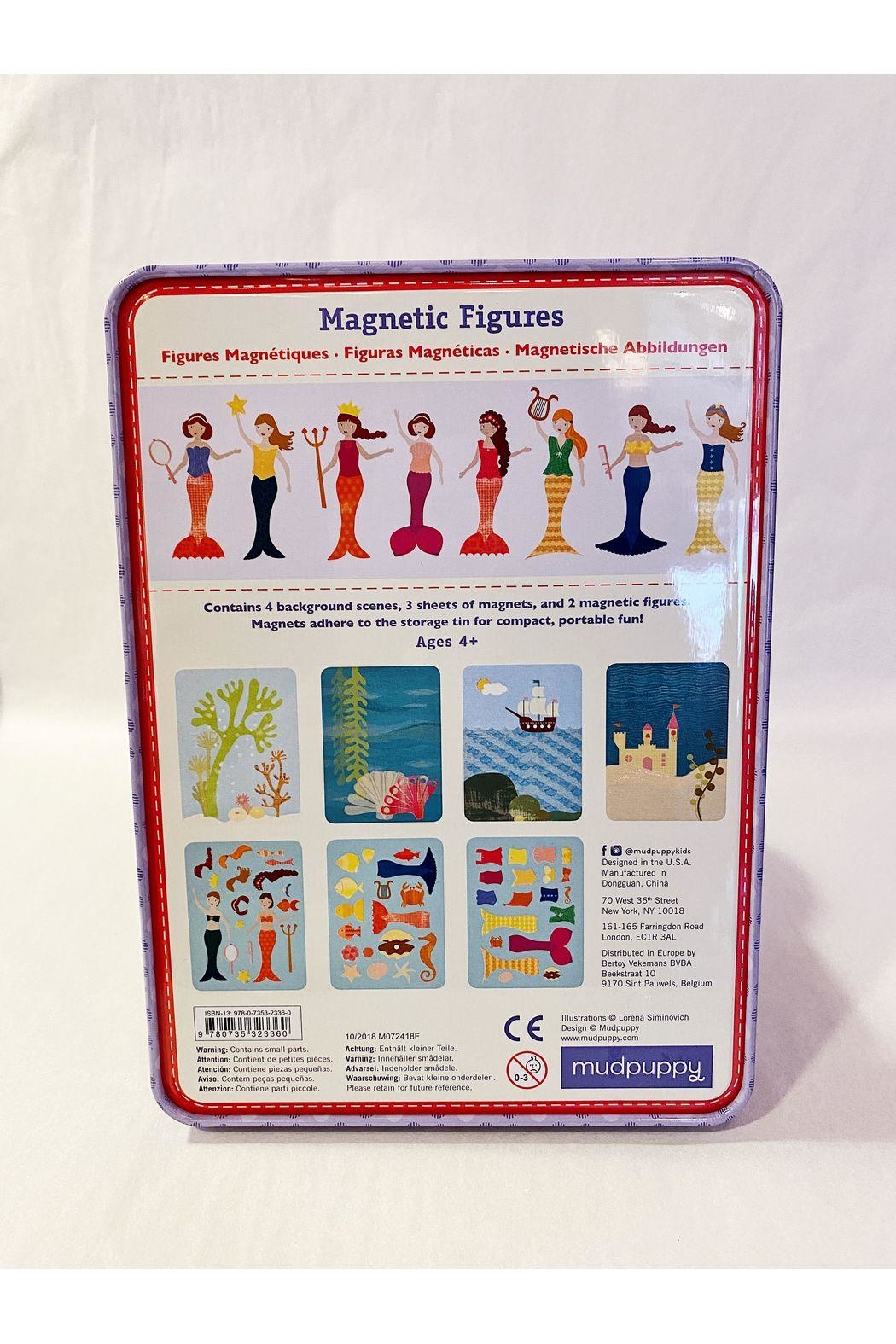Chronicle Books Mermaid: Magnetic Figures - Front Full Image
