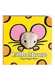 Chronicle Books Mouse Finger-Puppet Book - Front cropped