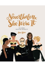 Chronicle Books Nevertheless She Wore It - Front cropped