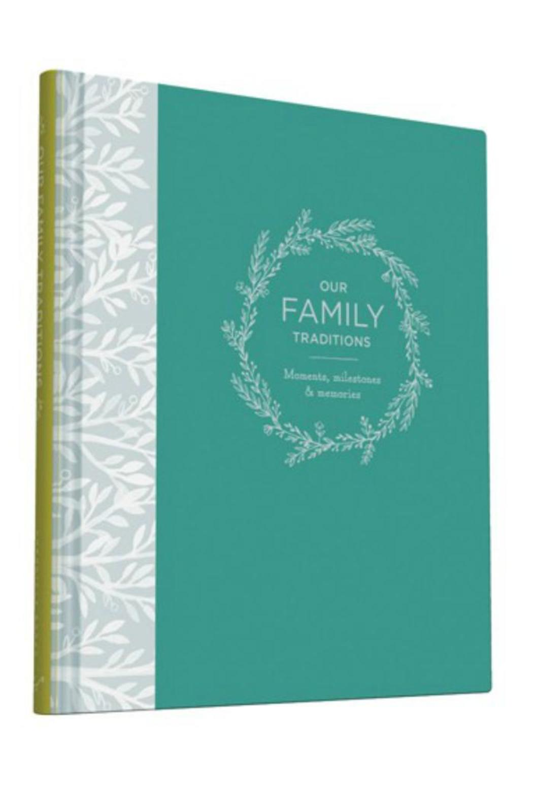 Chronicle Books Our Family Traditions Journal From Omaha