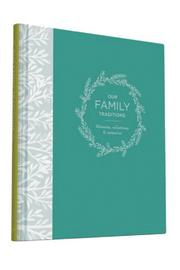 Chronicle Books Our Family Traditions Journal - Product Mini Image
