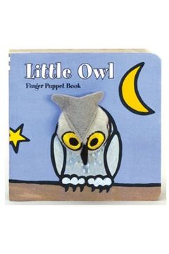 Chronicle Books Owl Finger-Puppet Book - Alternate List Image
