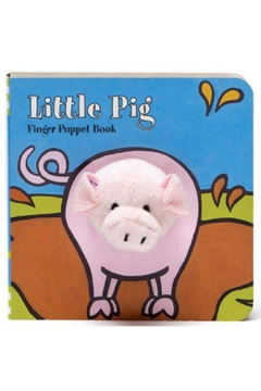 Shoptiques Product: Pig Finger-Puppet Book