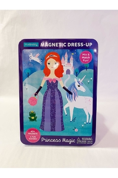 Chronicle Books Princess Magic: Magnetic Dress-Up - Product List Image