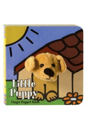 Chronicle Books Puppy Finger-Puppet Book - Product Mini Image