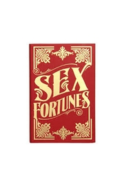 Chronicle Books Sex Fortunes Book - Front cropped