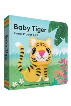 Chronicle Books Tiger Finger-Puppet Book - Alternate List Image