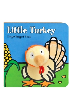 Chronicle Books Turkey Finger-Puppet Book - Alternate List Image