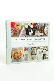 Chronicle Books Vintage Wedding Style - Front cropped