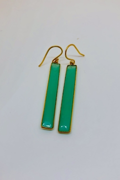 Jill Duzan Chrysoprase Rectangles - Alternate List Image