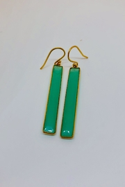 Jill Duzan Chrysoprase Rectangles - Product Mini Image