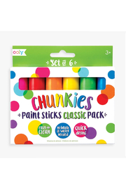 Ooly Chunkies Paint Sticks - Classic - Product Mini Image