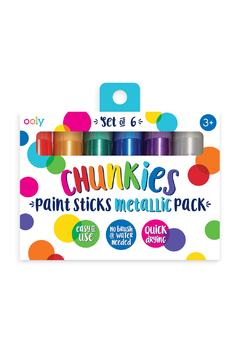 Ooly Chunkies Paint Sticks: Metallic - Product List Image