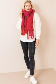 Pia Rossini Chunky Cable-Knit Scarf - Product Mini Image