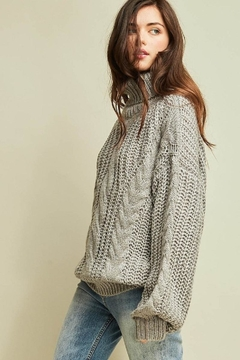 Shoptiques Product: Chunky Cable-Knit Sweater