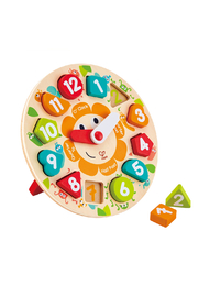 Hape  Chunky Clock Puzzle - Product Mini Image