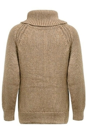 Hidden Valley Chunky Collar Knit Sweater - Front full body