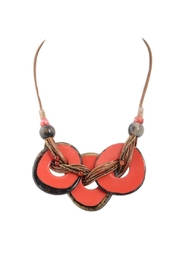 Alisha D Chunky Coral Necklace - Product Mini Image