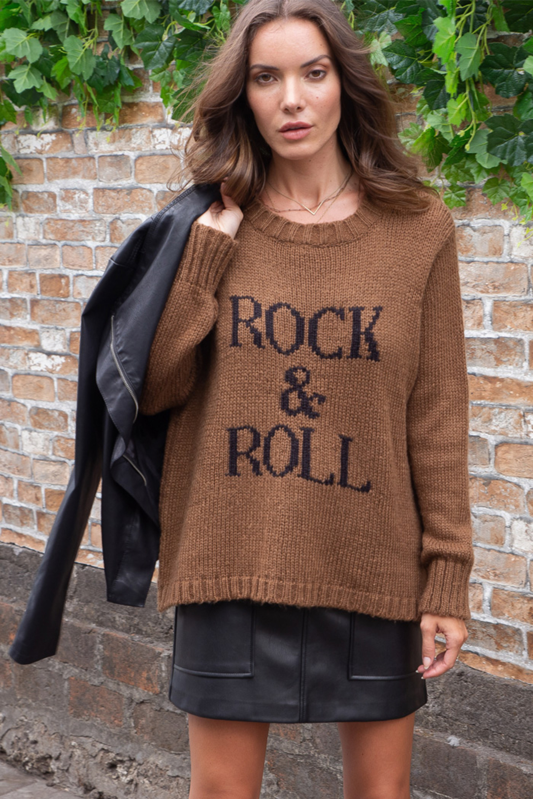 Wooden Ships Chunky Crew Pullover Sweater - Main Image