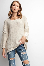 Unknown Factory Chunky Dolman Sweater - Product Mini Image