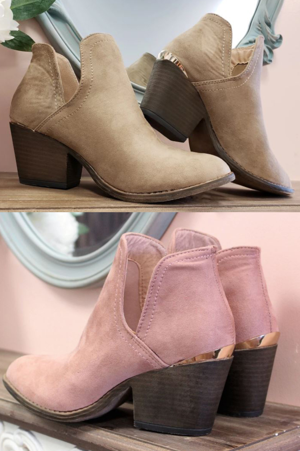 liliana Chunky Heel Bootie - Front Cropped Image