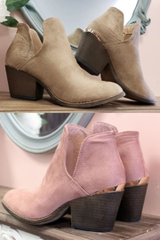 liliana Chunky Heel Bootie - Front cropped